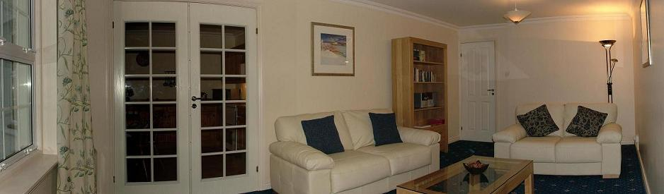 Living Room of Self Catering Apartment in Oban